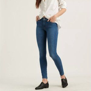 LUCKY BRAND Mid Rise Ava Super Skinny Jeans 29